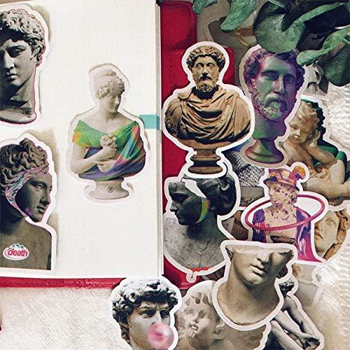 TTBH Light Vintage Statue Sticker DIY Scrapbooking Phone Week Album Diary Happy Planner Decoration Stickers
