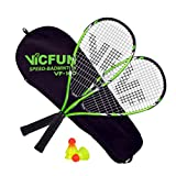 VICFUN Speed Badminton Set Vicfun Speed Badminton 100 Set, schwarz/grün, 868/0/0