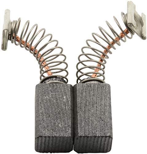 Escobillas de Carbón para HITACHI FM8 fresadora - 6,5x7,5x12mm - 2.4x2.8x4.7\'\'