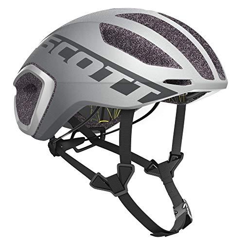 SCOTT 275183 Casco para Bicicleta, Unisex Adulto, Vog SIL/refl, S