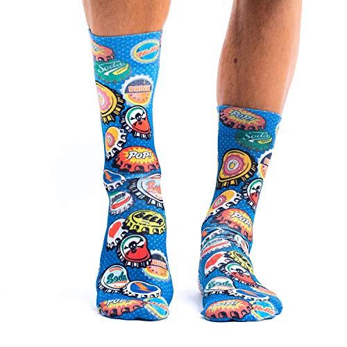 Wigglesteps Herren Socken 'Cork Jeans-M', one Size (41-46)