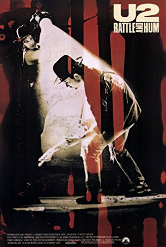 U2: Rattle and Hum Movie Poster (27,94 x 43,18 cm)