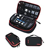 BAGSMART Electronic Organizer Travel Cable Organizer Bag Portable Electronic Accessories Bag fo…