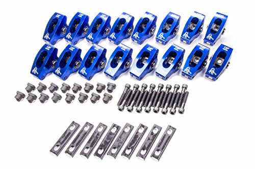 1036-1 1.6 Ratio x 3//8 Stud Roller Rocker Arm for Small Block Chevy Scorpion