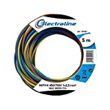 Electraline 25148 - H07V-K Cable, Sección 1 x 2.5 mm, 5m, multicolor