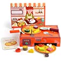 Top Bright Food Wooden Pizza Making Toy Set