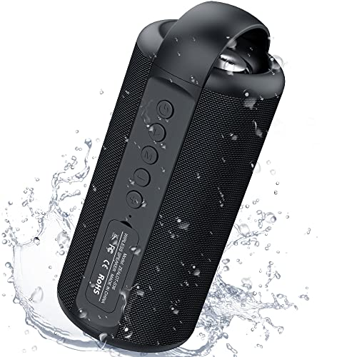 Portable Bluetooth Speakers, ZEALOT Wireless Bluetooth Speakers, 20W Waterproof Speakers, Dual Pairing, Loud Stereo, Hiking Bluetooth Speaker with Hand Strap, Outdoor Speakers for Cycling & Travel