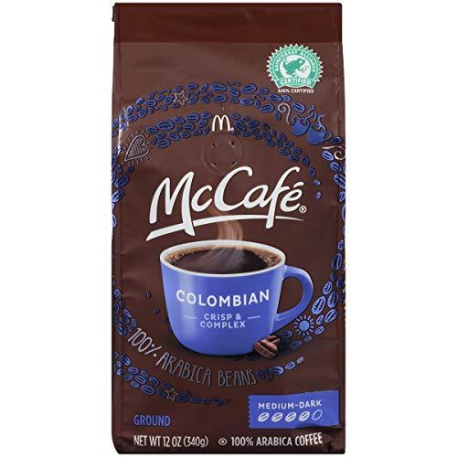 McCafe Coffee Ground Coffee, Colombian Medium-Dark Roast, 12 Ounce by McCafe Coffee