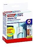 tesa Insect Stop FALT - Adaptador de puerta para marcos de aluminio - Abrazadera...