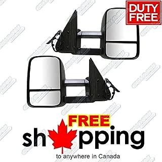 APS 1999-2002 Chevy/GMC Silverado/Sierra Power Heated Telescoping Towing Mirror Pair