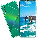 Pretty Store Dual SIM Teléfono Móvil 5G Smartphones 4800mAh Batería, 6,7 Pulgadas HD + Pantalla, 8GB + 512GB Diez Núcleo Dual Sim Thonos Desbloqueados, Cara ID (Color : Green)