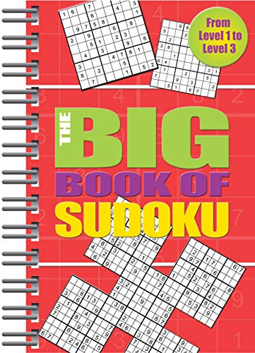 Compare Textbook Prices for Big Book of Sudoku: Over 500 Puzzles & Solutions, Easy to Hard Puzzles for Adults  ISBN 9781680524758 by Parragon Books,Parragon Books
