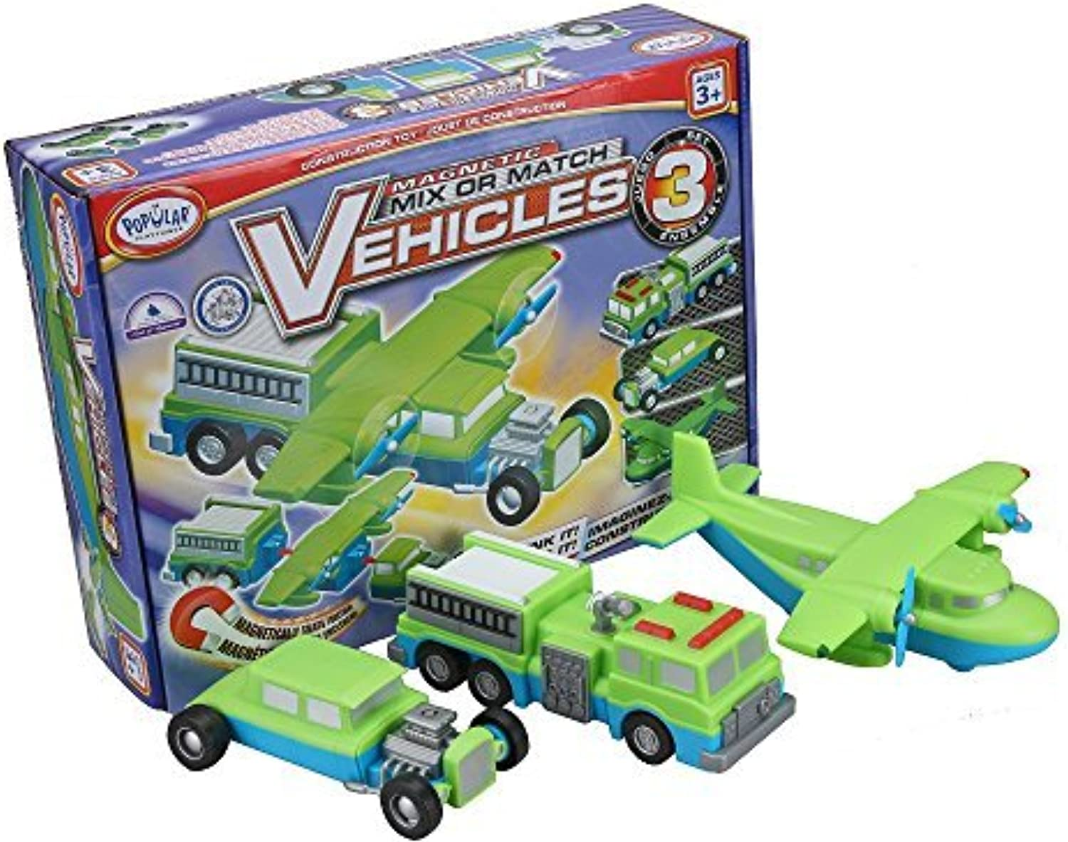 Popular Playthings Mix Or Match 3 Vehicle by Popular Playthings