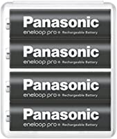 【Amazon.co.jp限定】パナソニック エネループ 単3形充電池 4本パック 大容量モデル eneloop pro BK-3HCD/4SA