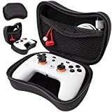 Orzly Case for Google Stadia Controller - Protective Case with Internal Storage Pocket for Charging Cable