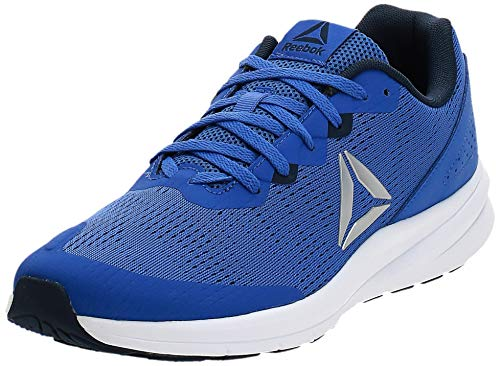 Reebok REEBOK RUNNER 3.0, mens Trail Running, Multicolour Crushed Cobalt Col Navy Wht Silver 000, 7.5 UK (41 EU)