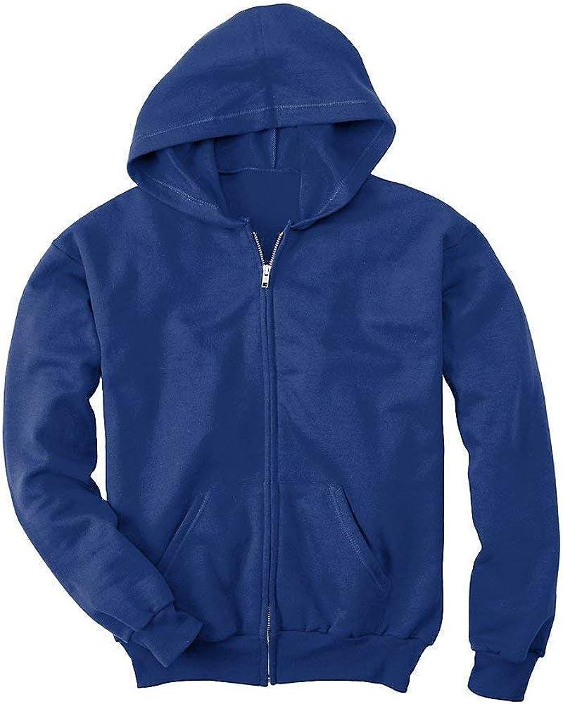 Hanes Comfortblend EcoSmart Full-Zip Kids' Hoodie Sweatshirt