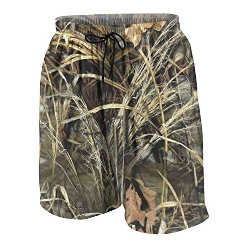 Realtree Camo Wallpapers Logo Teenager Boys Beachwear Beach Shorts Pants Board Shorts