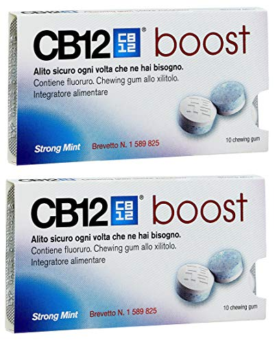 CB12 Steigern Sugar Free Gum - Starke Mint 2 Pack