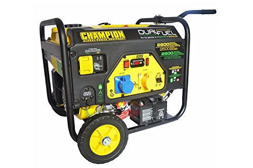 Generator Champion 6500 Watt Benzin 5500 Watt Gas Notstromaggregat Stromerzeuger 230V EU