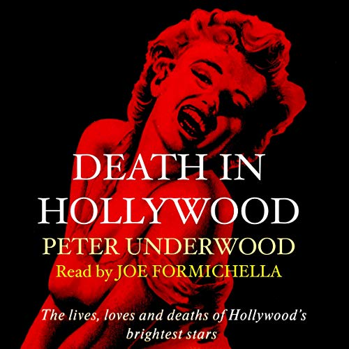 Death in Hollywood audiobook cover art