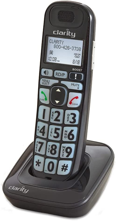 Clarity E814CC Corded Phone Bundled with D703HS handsets (E814CC with Three D703HS)