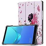 Schutzhülle für Huawei MediaPad M5 8.4 Zoll Hülle Tablet Flip Case mit Auto Sleep/Wake, Standfunktion & Touch Pen