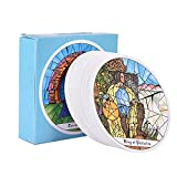 seraphicar 78 PCS Tarot of the Cloisters Cards Juego de mesa Tarot of the Cloisters Rare Vintage Deck 1993