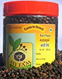 Premium grade - Extra bold black pepper from Idukki Kerala No Artificial Colors and Preservatives. Net weight - 250 GRAM Hand harvested to ensure selection of largest pepper berries with a robust, piquant and fruity flavor. Fresh pepper directly from...