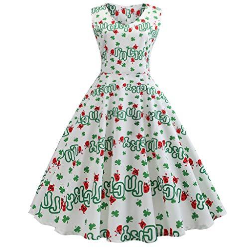 Dames Vintage Jurk 1950 Polka Dot Gedrukt Prom Jurken Casual Rok Klassieke Rockabilly Retro Bloemen Patroon Cocktail Avond Swing Blouse