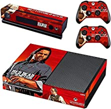 Bafna Anusha Protective Vinyl Skin Decal Cover for Xbox One Console Wrap Sticker Skins with Two Free Wireless Controller Decals Play video games