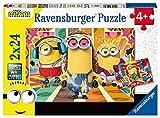 Ravensburger Puzzle, Minions, 2 Puzzle de 24 Piezas, Puzzles para Niños, Edad Recomendada...