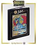 Salamence-GX (Drattak-GX) SM139 Jumbo Full Art - Jumboost X Sun & Moon 7.5 Dragon Majesty - Portfolio A4 - Rangement 180 Cartes