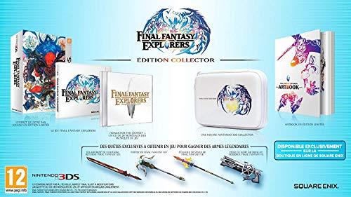 Final Fantasy Explorers Collector Edition auf deutsche