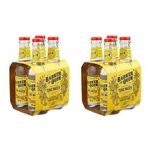 Barker & Quin Premium Indian Tonic 8 x 200ml / rein natürlich aus Südafrika / handwerklich hergestellt / (Einweg Flaschen Preis incl. 2,00 € / 8 x 0,25€ DPG Einwegpfand)