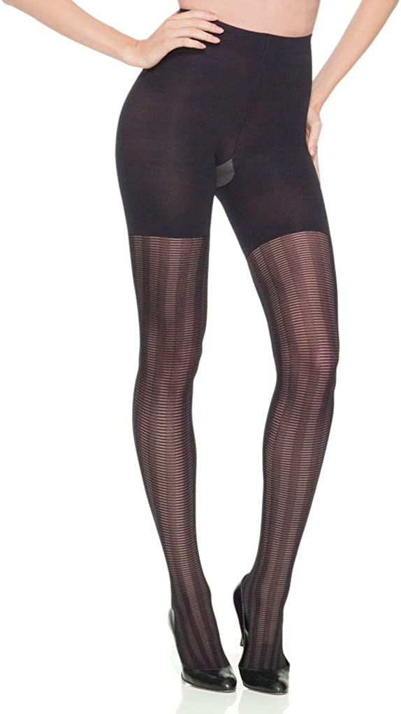 SPANX Tight-End-Tights All Lined Up, Black, A