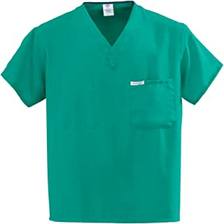 PerforMAX Synthetic Unisex Reversible V-Neck Scrub Top, ANG-CC
