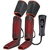 CLORIS 2020 Arms Leg Massager for Circulation with Heat Function, Foot Massager with 3 Modes 4 Intensities, for Arms, Tired Feet, Legs, Calf, Plantar Fasciitis, Diabetics, Neuropathy, Deep Kneading