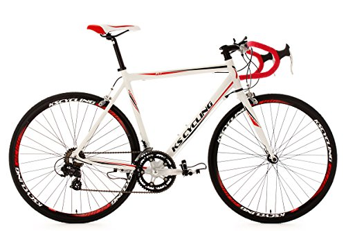 KS Cycling Euphoria Vélo de course Blanc 28'