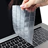 TwoL Clavier Coque de Protection pour Neuf MacBook Pro 16 Pouces 2019 avec Touch Bar & ID Modèle A2141 (Transparent)