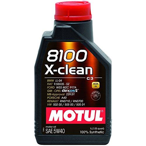 MOTUL 102786 8100 5W40 X-clean 5W40 / 1Liter