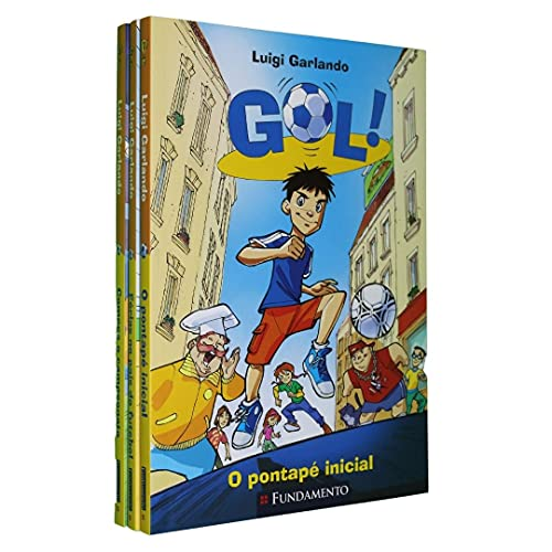 Gol - Kit 3 livros (Vol. 1, 2 e 3)