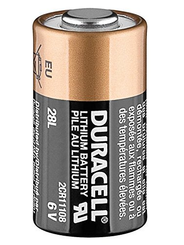 Duracell 2CR11108 Lithium Batterie 28L 2CR-1/3N 6V Bulk