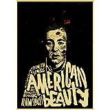 N/U Vintage Plakat American Beauty Film Retro Kraftpapier