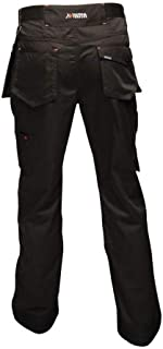 Tactical Threads Mens Incursion Cargo Workwear Trousers Black