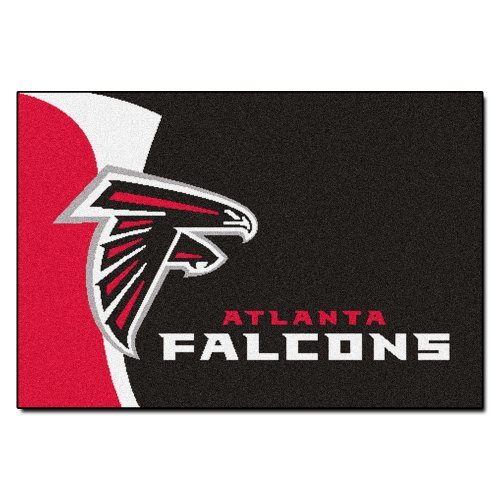 FANMATS NFL Atlanta Falcons Nylon Face Starter Rug