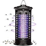 AUTSCA Lámpara Antimosquitos Eléctrico UV 11W, LED Mosquito Lámpara Trampa, 1000V Potencia de Alto Voltaje, Matar Mosquitos, Moscas, Polillas, para hogar