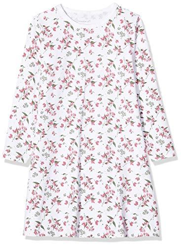 NAME IT Baby-Mädchen 13173281 Nachthemd, Mehrfarbig(Heather RoseHeather Rose), 98 (Herstellergröße: 98-104)