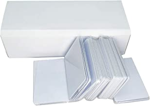 Tarjetas de PVC de inyección de tinta (200 unidades) imprimibles e impermeables para impresoras de inyección de tinta, impresión de doble cara
