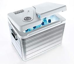 MOBICOOL Q40 AC/DC Draagbare thermo-elektrische aluminium koelbox, 39 liter, 12 V en 230 V, Mini koelkast voor auto, vrach...